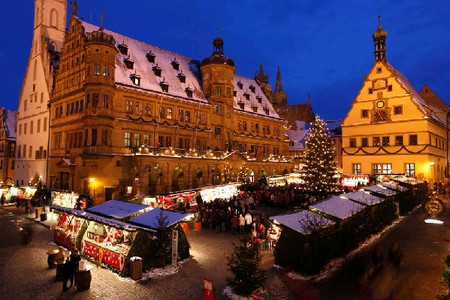 Rothenburg Reiterlesmarkt